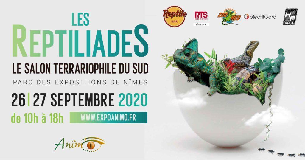 Affiche Reptiliades 2020